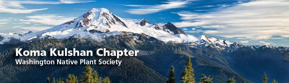 Washington Native Plant Society Koma Kulshan Chapter