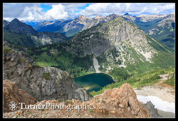 Lake Ann from Maple Pass